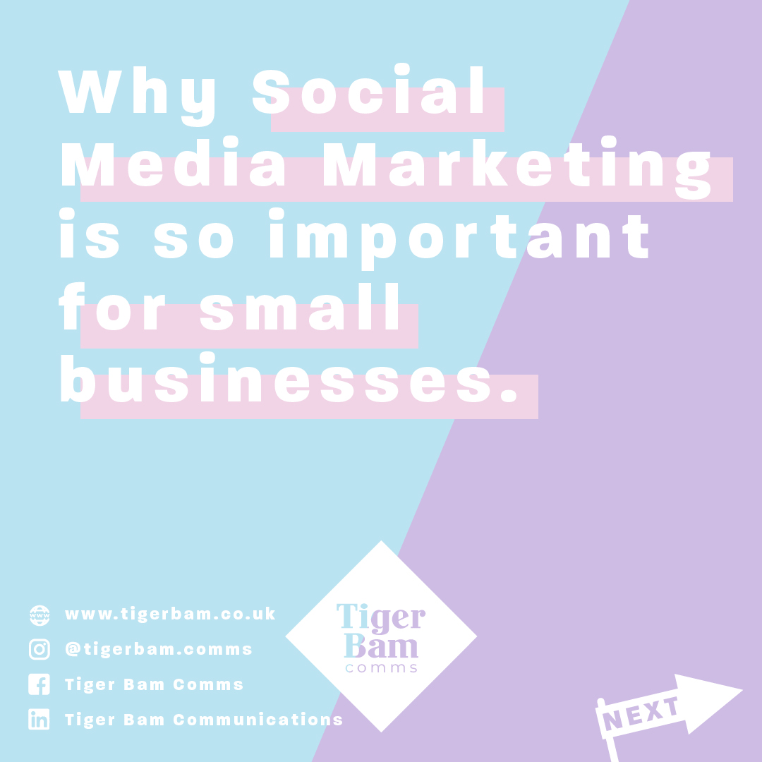 Why Social Media Marketing is so important for small businesses.